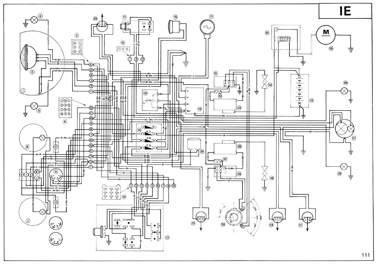 wiring diagram for 860 gt ducati