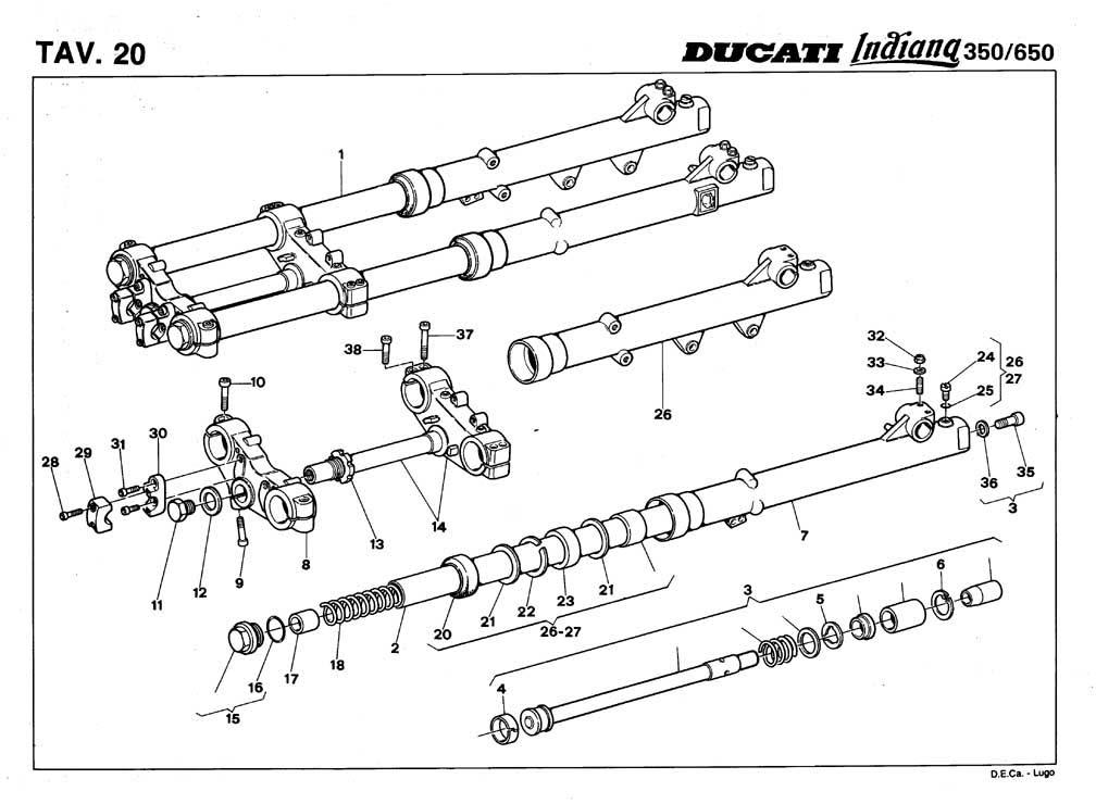 indiana_66 Ducati Indiana 650 Parts