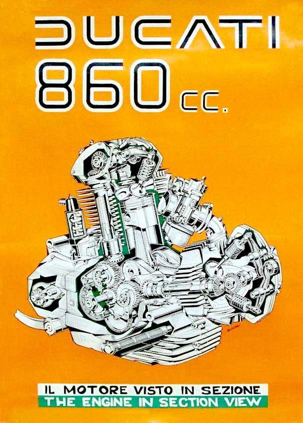 860 motor cutaway drawing Chopper Wiring Diagram Triumph 500 Wiring Diagram